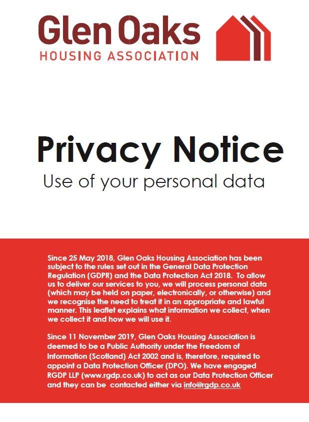 Customer privacy notice image
